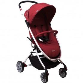 Vežimėlis Coto Baby Verona PLUS Linen Red