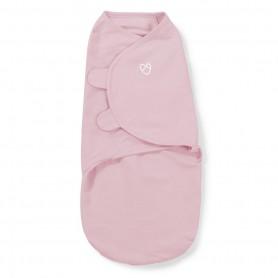 Kokonas - vystyklas kūdikiui Pink Heart (S dydis)