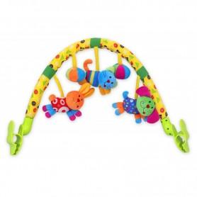 Pakabinamas žaislų lankas su muzikele