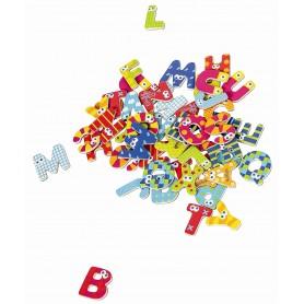 Boikido medinės magnetinės raidės (59 vnt.)