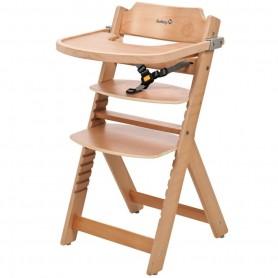 Medinė maitinimo kėdutė Timba su staliuku