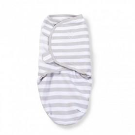 Kokonas - vystyklas kūdikiui Grey Stripe (L dydis)