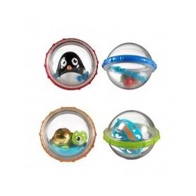 Munchkin vonios žaislas Linksmieji kamuoliukai ( 2vnt.)