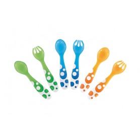 Munchkin valgymo įrankių rinkinys Multi: šaukštelis ir šakutė