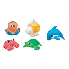 Munchkin žaisliukai voniai (5 vnt.)