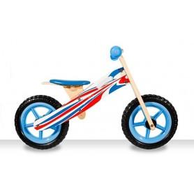 Medinis balansinis dviratukas Blue Plus