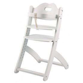 Medinė maitinimo kėdutė + įdėklas