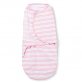 Kokonas - vystyklas kūdikiui Pink Stripe (L dydis)