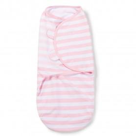Kokonas - vystyklas kūdikiui Pink Stripe (S dydis)