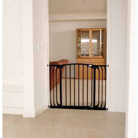 Saugos varteliai Dreambaby Hallway (97-108 cm.), juodi