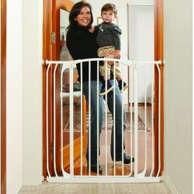 Saugos varteliai Dreambaby aukšti Hallway (97-106 cm.), balti