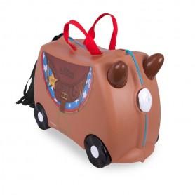 Trunki vaikiškas lagaminas Bronco Horse
