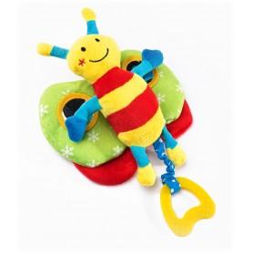 Lavinamasis žaislas Drugelis su kramtuku