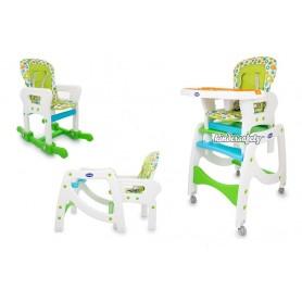 Maitinimo kėdutė-transformeris 3in1