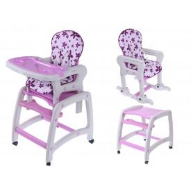 Maitinimo kėdutė-transformeris su lingėmis Purple Flower