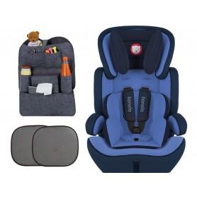 Automobilinė kėdutė Levi Plus Blue 9-36 kg + Dovana