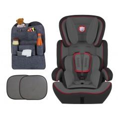 Automobilinė kėdutė Levi Plus Grey/Red 9-36 kg + Dovana