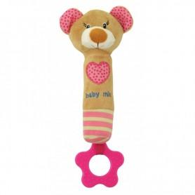 Kramtukas - žaislas Meškiukas Pink