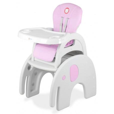 Maitinimo kėdutė transformeris Eli Pink