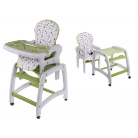 Maitinimo kėdutė-transformeris Green Flower