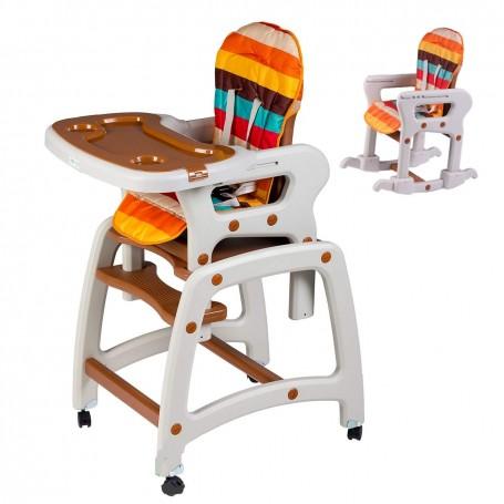 Maitinimo kėdutė-transformeris Brown su lingėmis