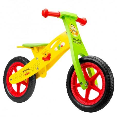 Medinis balansinis dviratukas Disney Winnie