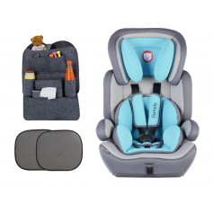 Automobilinė kėdutė Levi Plus Light Blue 9-36 kg + Dovana