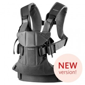 Nešynė BabyBjorn One Denim Grey/Dark Grey