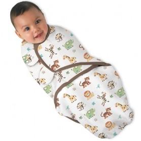 Kokonas - vystyklas kūdikiui Jungle (L dydis)