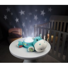 Migdukas-projektorius Fisher Price Hippo Blue