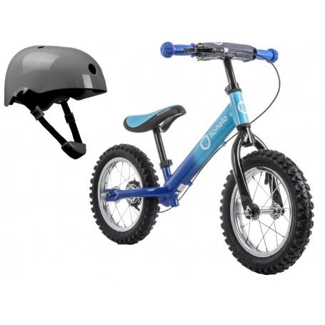 Balansinis dviratukas Lionelo DEX PLUS Blue + DOVANA