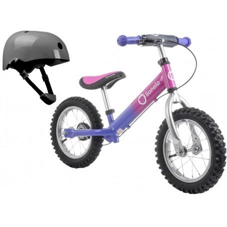 Balansinis dviratukas Lionelo DEX PLUS Pink + DOVANA