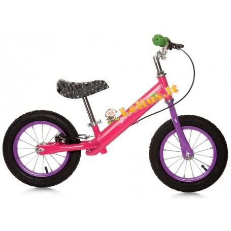 Balansinis dviratukas Pink Easy GO