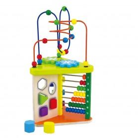 Medinis lavinamasis žaislas 5in1