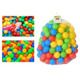 Plastikinių kamuoliukų rinkinys 100 vnt.