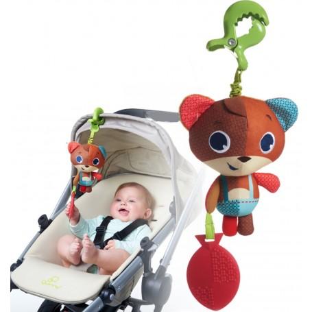 Tiny Love pakabinamas vibro žaislas Meškiukas Isaac