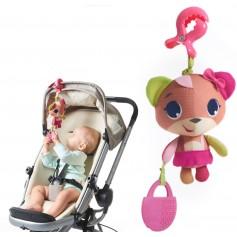 Tiny Love pakabinamas vibro žaislas Meškutė Izzy