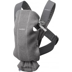 Babybjorn nešynė Mini Dark Grey Jersey