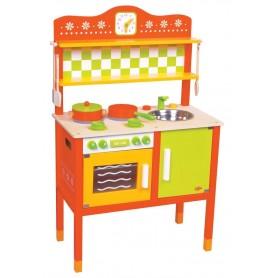 Medinė vaikiška virtuvėlė Gourmet
