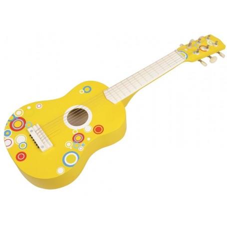Vaikiška medinė gitara Bubble
