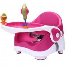 Maitinimo kėdutė Pink tvirtinama ant kėdės