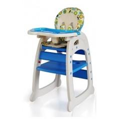Maitinimo kėdutė - transformeris Mėlyni Burbulai