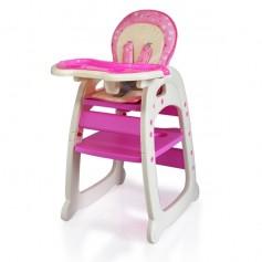 Maitinimo kėdutė - transformeris Rožini Burbulai
