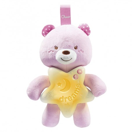 Chicco migdukas Goodnight Bear Pink