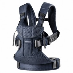 Babybjorn nešioklė ONE AIR Navy Blue Mesh