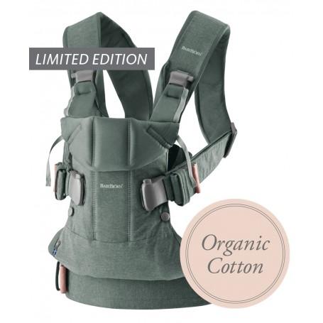 Nešynė BabyBjorn One Grayish Green Organic
