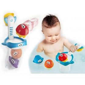 B-Kids vonios žaislas 2in1 krepšinis ir semtuvas
