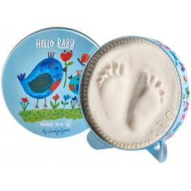 Dėžutė kūdikio antspaudo gamybai Baby Art Carolin Birds