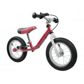 Balansinis dviratukas Exclusive Red su stabdžiu