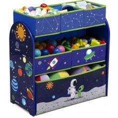 Žaislų dėžė - lentyna Astronautas